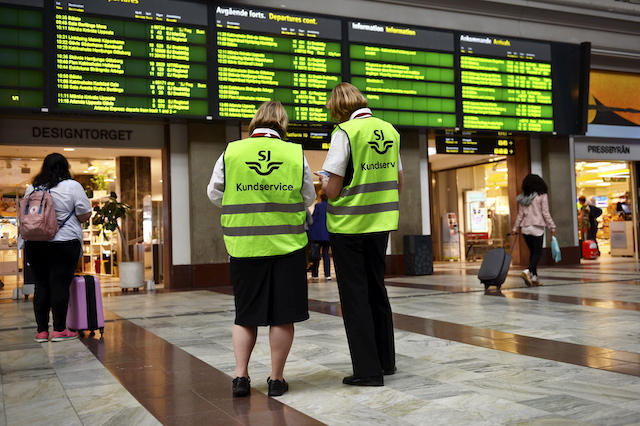 Train delays to be expected on Midsummer's Eve