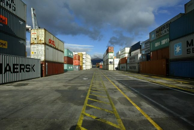 Spain's dockers up fight for jobs with two-day strike