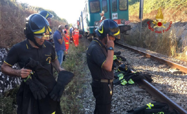 16 injured after trains collide in southern Italy