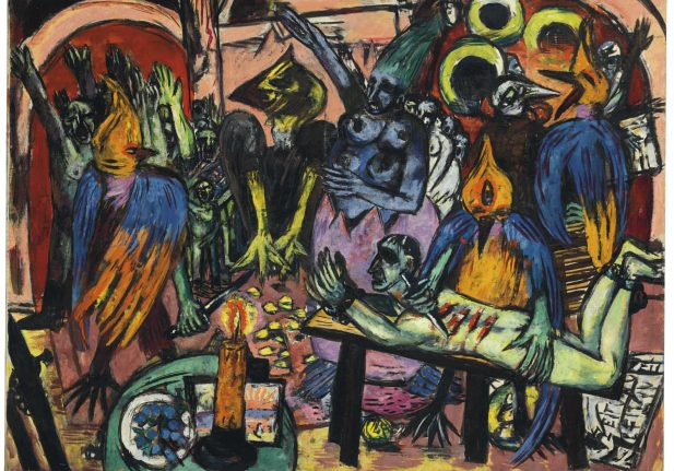 Anti-Nazi expressionist masterpiece sells for record sum at auction