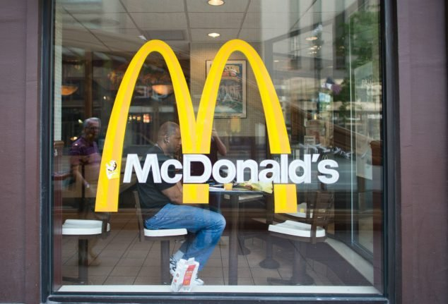 Berlin McDonald's branch evacuated after police find 'explosive device'