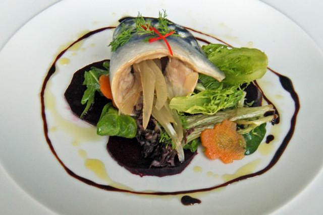 RECIPE: Pickled mackerel and beetroot salad