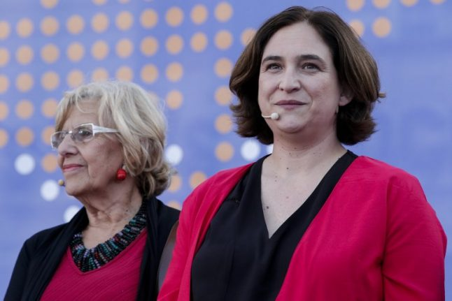 A tale of two 'Indignants' cities in Spain