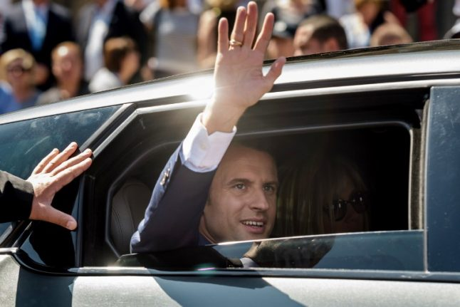 Macron's party on course for landslide victory in French parliamentary elections