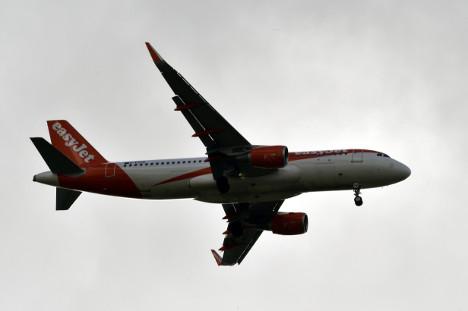 easyJet plane diverts over 'suspicious conversation'