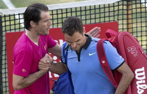 Federer suffers shock defeat in comeback match
