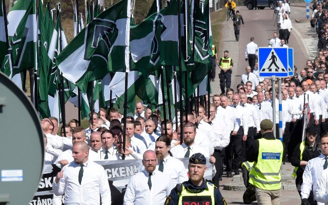 Host of Swedish politics week asks police to stop neo-Nazis from attending
