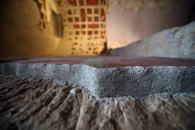 Mini Pompeii found in Rome during metro line excavations