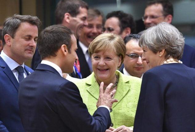 European leaders meet in Berlin to plot united front ahead of crunch G20 summit