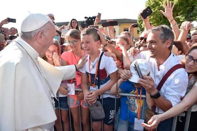 Pope Francis honours progressive postwar priests with pilgrimage