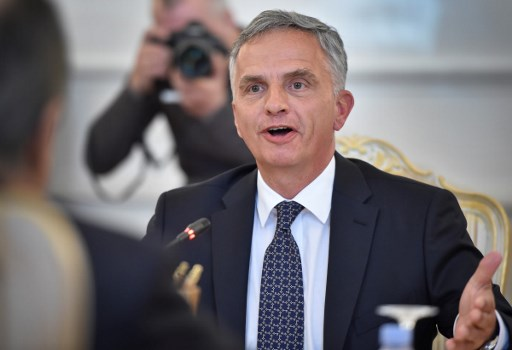 Swiss foreign minister Burkhalter to leave government in October