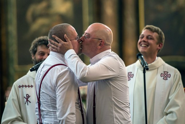 Germany set to legalize gay marriage as early as this week