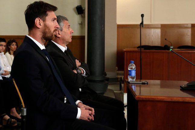 Spanish prosecutors propose replacing Messi jail term with fine