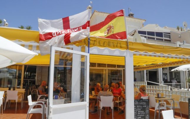 Britain has been swapping elderly expats for young Spanish workers