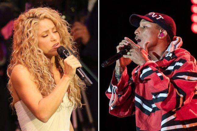 Shakira, Pharrell coming to Hamburg for anti-poverty concert amid G20 summit