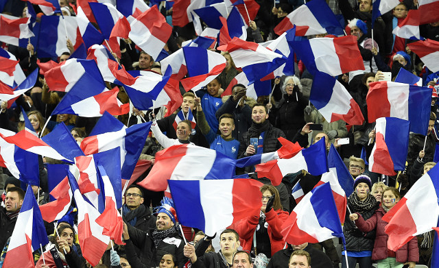 VIDEO: French fans join in with God Save the Queen in emotional tribute to terror victims