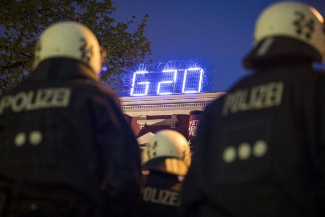 Berlin police fired from G20 preparations over 'public sex and urinating on fences'