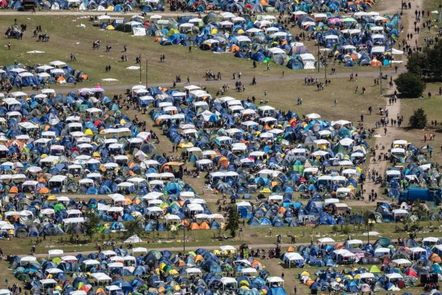 Parents ridiculed for complaining to Roskilde Festival over camping areas