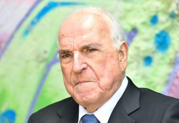 Helmut Kohl's son calls funeral plans 'unworthy' of legacy