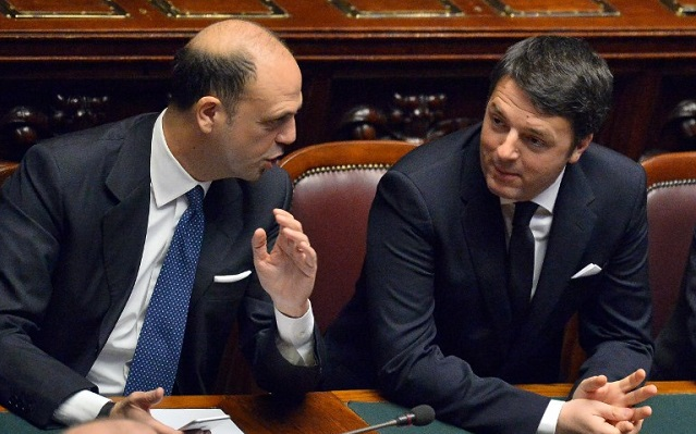 Renzi clashes with Italy's smaller parties over new electoral law
