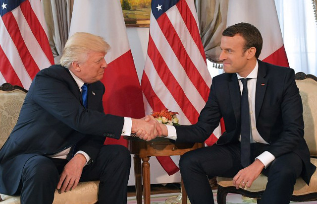 France's Macron invites Trump to Bastille Day parade