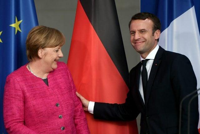 Merkel congratulates Macron on 'clear parliamentary majority'