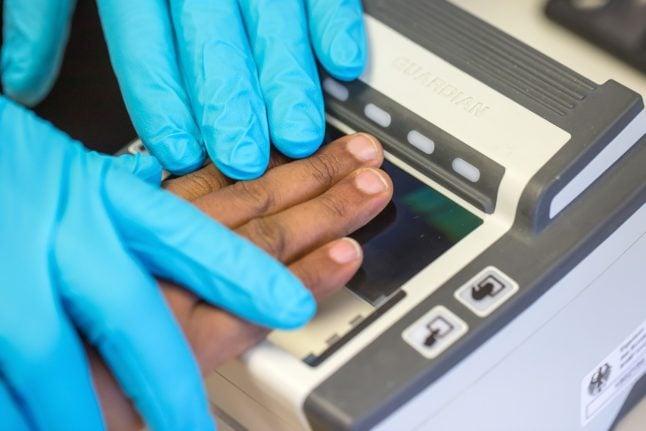 Fingerprints missing for hundreds of refugees