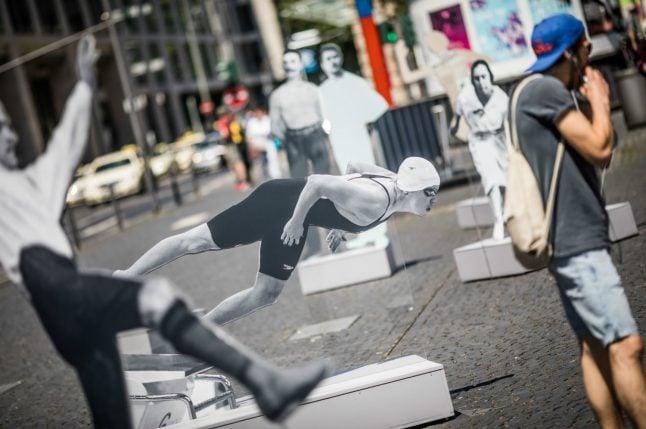 Two sculptures of Jewish sporting heroes destroyed in Frankfurt