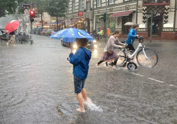 Berlin again to be battered by storms on Friday