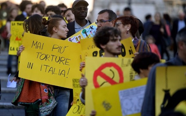 Torture has finally been criminalized in Italy