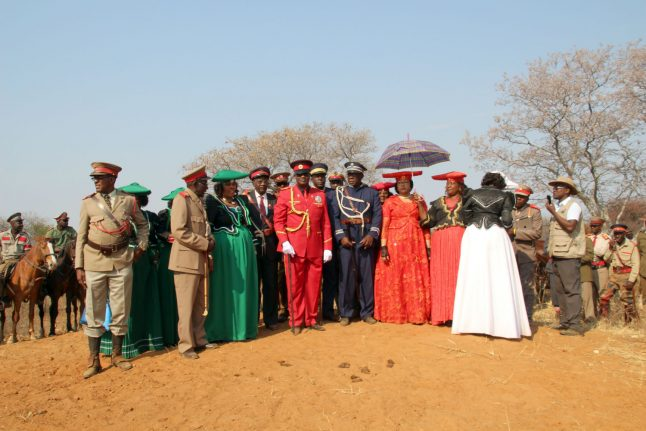 Namibian tribe continue fight for German compensation over colonial genocide