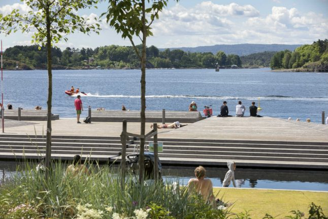 Summer is here: 30 degrees in Norway this week