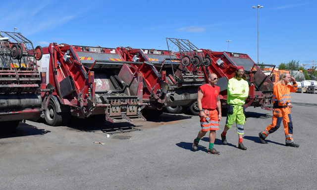 Rubbish 'chaos' avoided as Stockholm collectors' strike rolls on