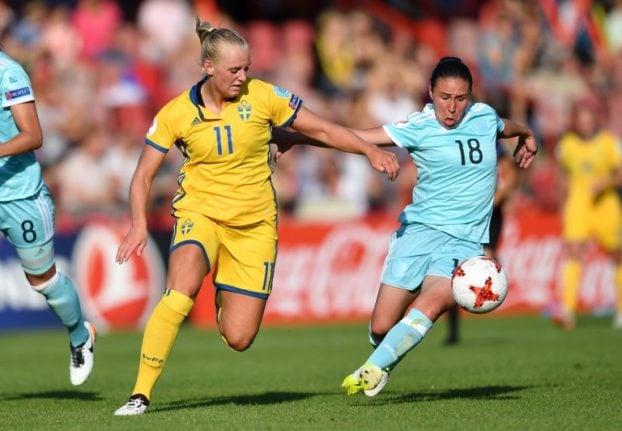 Sweden sink Russia at women's Euro
