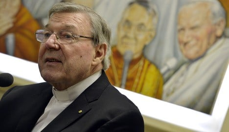 Cardinal Pell denies abuse charges in Australian court