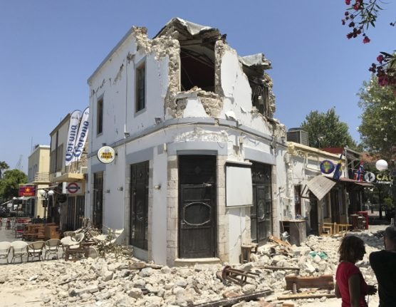 Swede dies in earthquake in Greece and Turkey