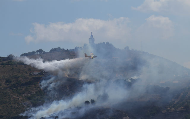 Bush fires stretching capacity of fire department