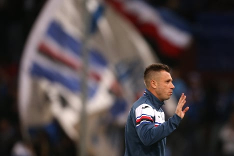 Cassano retires from Verona – again, says wife 'was wrong'