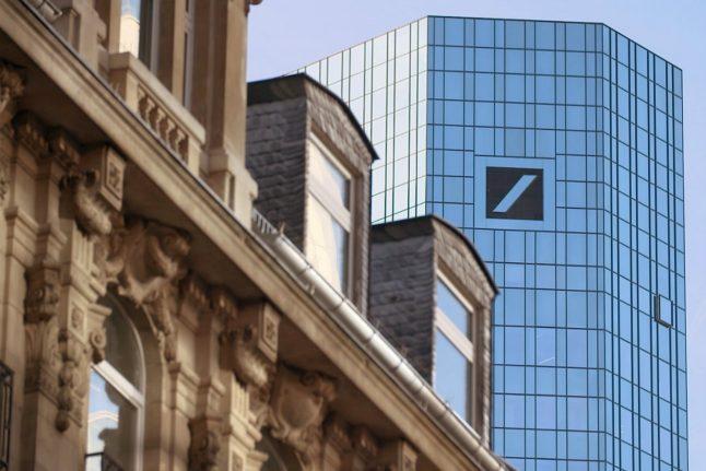 Deutsche Bank shares gain on report it is ditching London for Frankfurt