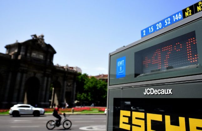 Road worker dies of heatstroke as Spain swelters in record breaking heatwave