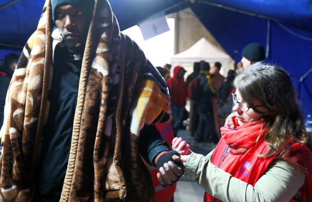 Doubts over Macron's plan for asylum checks in Libya