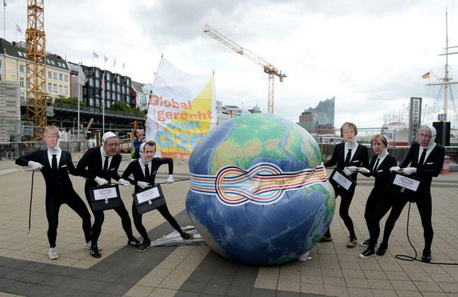 Five key issues that'll mark Hamburg's stormy G20 summit