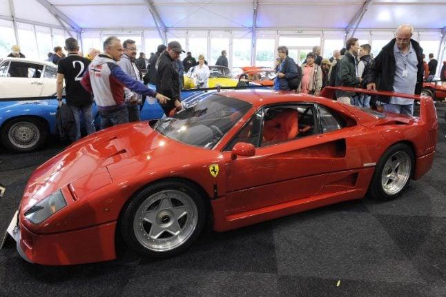 Iconic Ferrari F40 turns 30 today