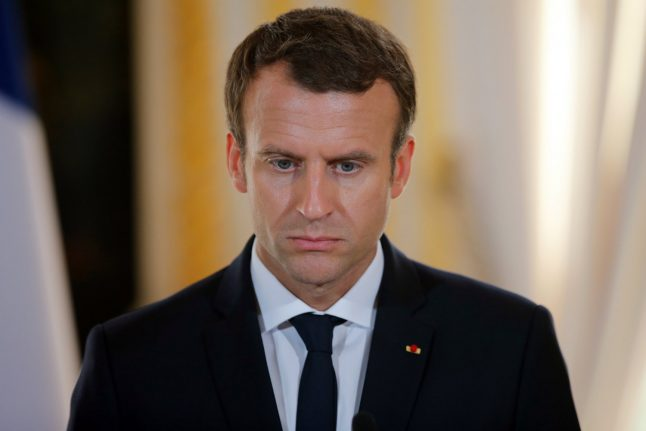 Popularity tumbles for France's Macron: poll