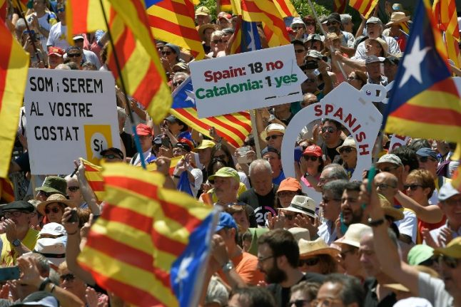 Spain files legal challenge to Catalan referendum move
