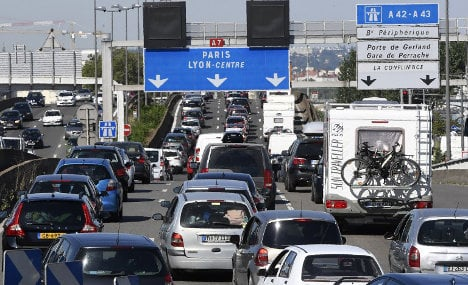 France set for weekend traffic misery as school holidays begin amid sizzling heatwave