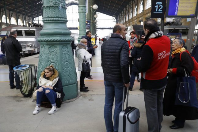 Paris: Train and RER services at Gare du Nord hit by severe delays