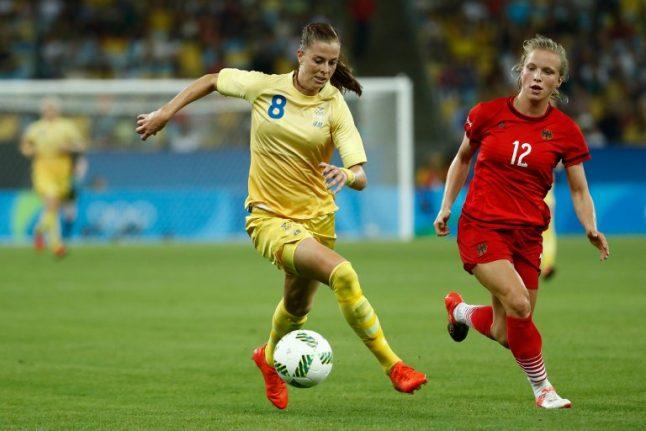 Sweden's women plot Olympic final revenge against Germany