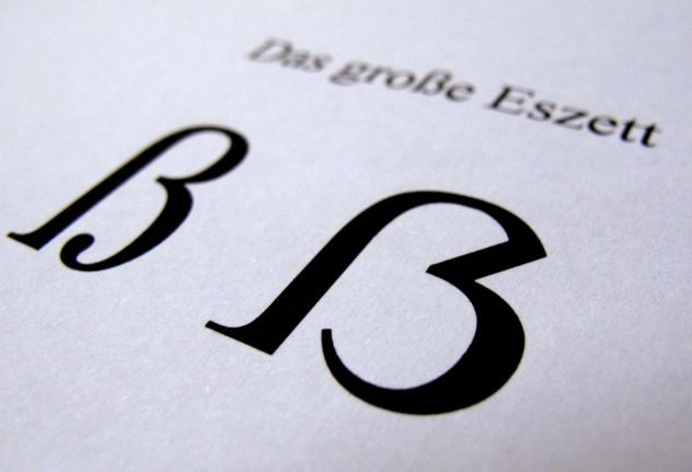 After century of dispute, the German alphabet just got a new character
