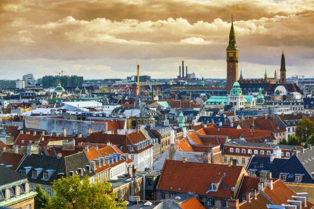 No summer days in Denmark this weekend